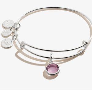 Alex and Anni June Birthstone charm bracelet